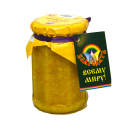 "organic ginger jam with orange ""blagodat"" - product's photo"