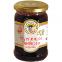 "organic cowberry jam ""blagodat"" with ginger   - product's photo"