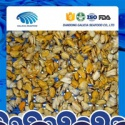 frozen boiled blue mussels meat with better quality - product's photo