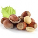 100% organic and natural hazelnuts - product's photo
