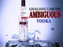 700ml private label vodka  - product's photo