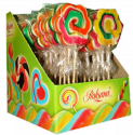lollipops 60g flower shaope fruit flavour - product's photo