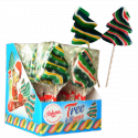 xmas tree shaped hard candy lollipop 60g - product's photo