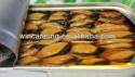 canned smoked mussels with oil - product's photo