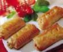 beef sausage rolls - product's photo