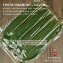 leaf without pollution fresh natural bamboo leaves - product's photo