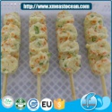 2017 high quality japan fried squid&vegetable surimi cake halal frozen - product's photo
