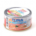 canned tuna chunk in soybean oil - product's photo