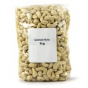 raw ,roasted and salted cashew nuts - product's photo