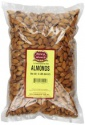 almonds kernels,natural dried and roasted - product's photo