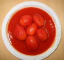 canned whole peeled tomato - product's photo
