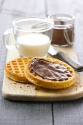 frozen round waffles - product's photo
