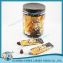 squeeze liquid chocolate jam with popping candy - product's photo