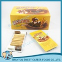 chocolate with stick biscuit - product's photo
