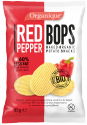 baked organic potato snacks - red pepper - product's photo