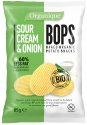 baked organic potato snacks - sour cream and onion - product's photo