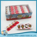 4pcs mini egg chocolate with biscuit - product's photo