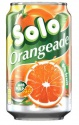 soft drink solo orangeade can 0.33 l - product's photo