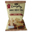 whole grain snack wheat chip bbq flavor - product's photo