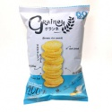rice cracker from brown jasmine rice thai snack sour cream flavor - product's photo