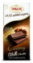 milk chocolate w. ahazelnut cream no added sugars - product's photo