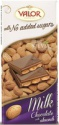 milk chocolate w. almonds no added sugars - product's photo
