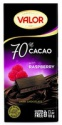 70% dark chocolate w. raspbery  - product's photo