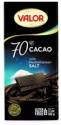 70% dark chocolate w. sea salt - product's photo