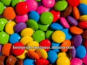 chocolate beans- smarties - product's photo