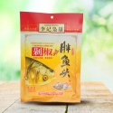 spicy condiment, hu-nan flavor steamed fish head with peppers - product's photo
