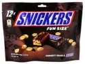 snickers chocolate fun size - product's photo