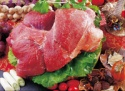 frozen pork meat ham boneless skinless - product's photo