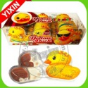 duck shape chocolate filled cookies - product's photo