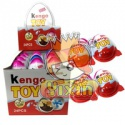 kengo toy egg candy chocolate biscuits - product's photo