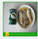 manufacturer of canned sardine in nature oil with chili - product's photo