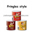 crispy kracks potato snacks (canned potato chips) - product's photo