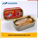 vegetable oil preservation process china nice canned sardine fish - product's photo