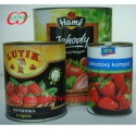 canned food strawberry - product's photo