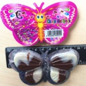 butterfly chocolate with biscuit - product's photo
