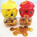sweet chocolate coin - product's photo