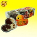 big yellow duck biscuit chocolate jam - product's photo