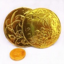 large size of chocolate coin - product's photo