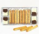 chocolate with biscuit bar - product's photo