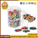funny cartoon car shape chocolate biscuits candy - product's photo