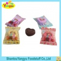 love heart crispy chocolate - product's photo