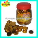 chocolate candy golden coin chocolate - product's photo