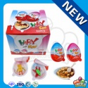 similar kinder surprise chocolate happy eggs with toy inside - product's photo
