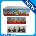 4pcs egg chocolate with biscuits - product's photo