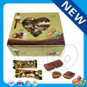 halal chocolate wafer bar with milk filling - product's photo