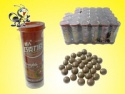 hot sell crisp sugar coated chocolate beans fill in bottle - product's photo